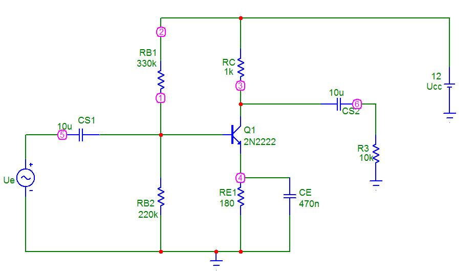 Circuito Emisor Receptor : Montaje del circuito conectando un condensador en paralelo
